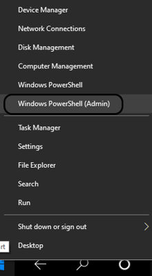 PowerShell Admin to reset the domain credentials
